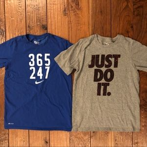 2/$20 Nike Boys' Dri-FIT Graphic Tee